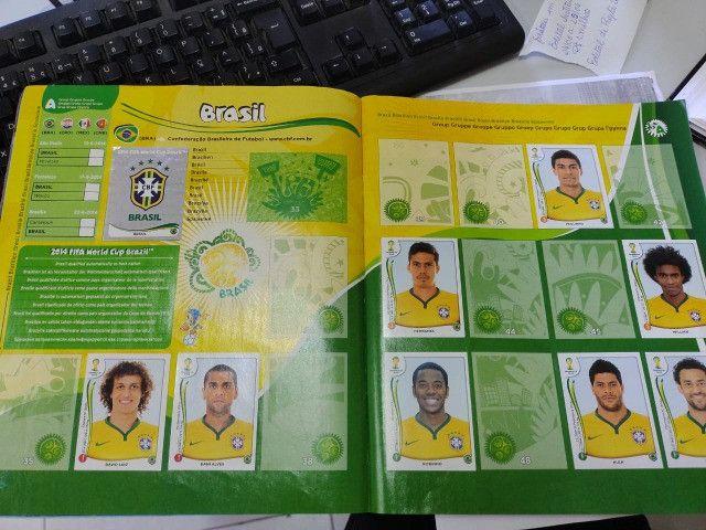 Album de figurinhas Copa do Mundo - Brasil 2014 - Foto 2