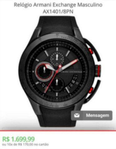 Relógio Armani Exchange Original Top