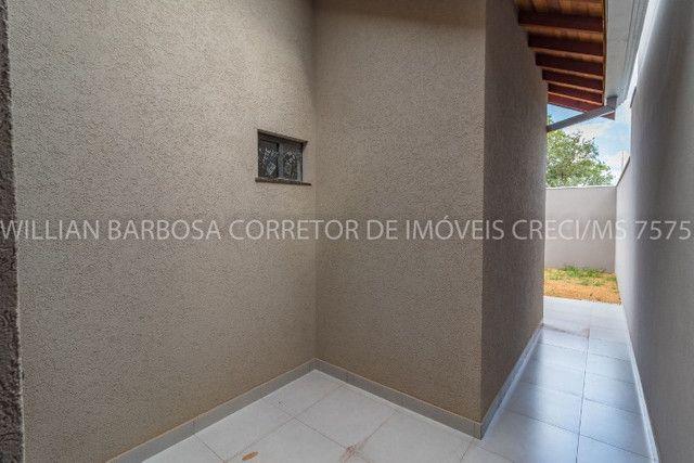 Casa nova com arquitetura moderna e cozinha americana no Rita Vieira 1! - Foto 14