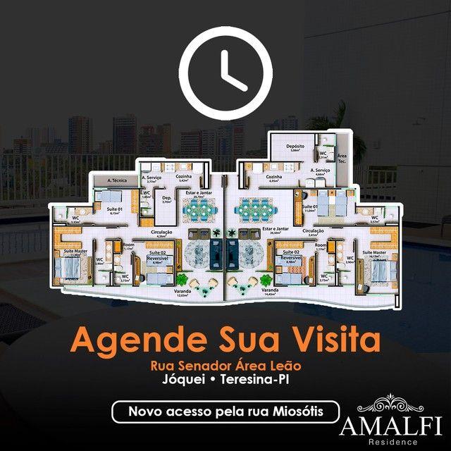 Apartamento para venda possui 107 metros quadrados com 3 quartos em Jóquei - Teresina - PI - Foto 2