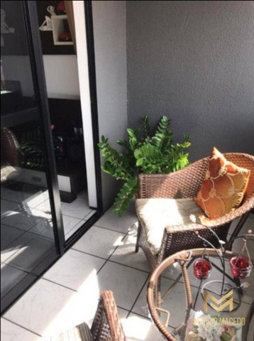 Aptº com 3 dormitórios à venda, 105 m² por R$ 550.000 - Fátima - Fortaleza/CE - Foto 6