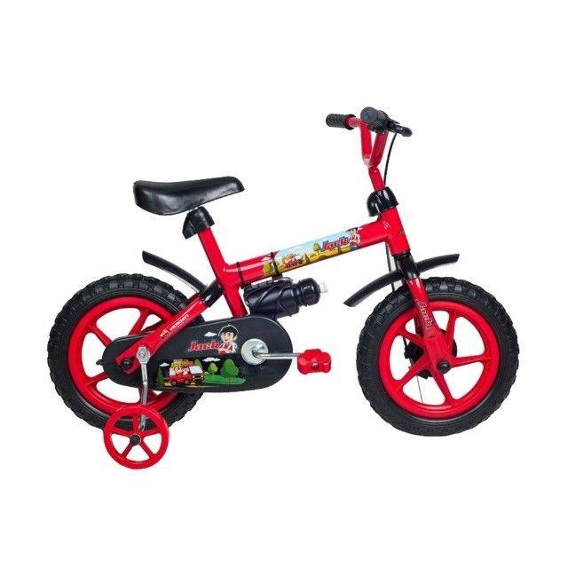 Dia das Crianças !! Bicicleta Infantil aro 12 Nova!!! 199 - Foto 4