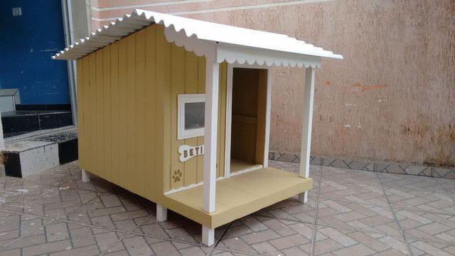 Casinha de cachorro com varanda a partir de 419 - Foto 5