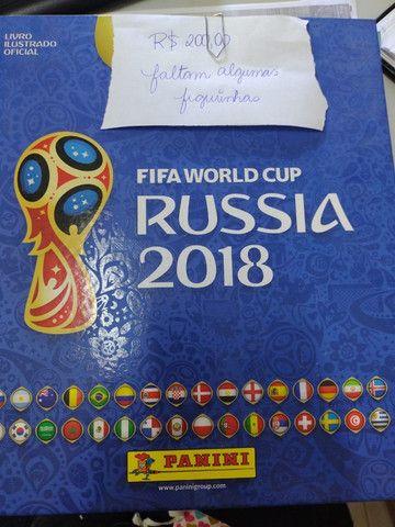 Album Copa do Mundo Rússia 2018 - com capa dura - Foto 2