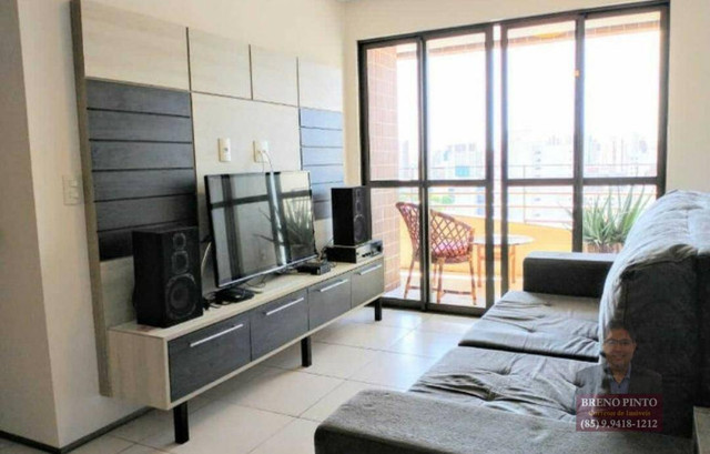 Apartamento no Villa Sonata com 3 dormitórios à venda, 124 m² por R$ 850.000 - Aldeota - F - Foto 18