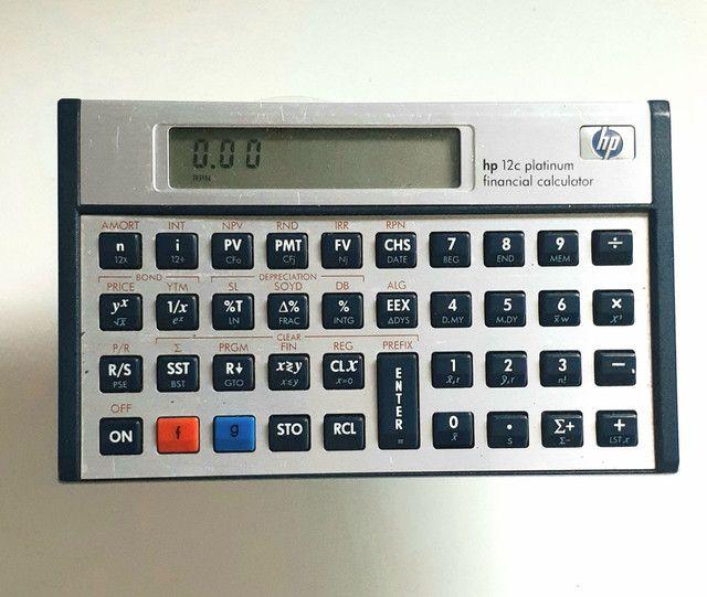 Calculadora HP Platinum