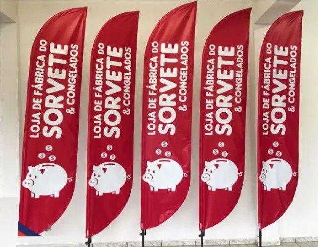 Bandeirola Personalizada p/ Sorveteria  - Foto 5
