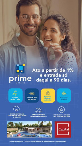Lançamento Prime Mosaico