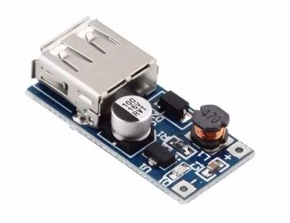 Modulo Step-Up USB - Arduino de 0,9 a 5,0 Volts para 5,0 Volts
