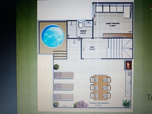 5 quartos, 4 suítes, piscina, churrasqu - Foto 18