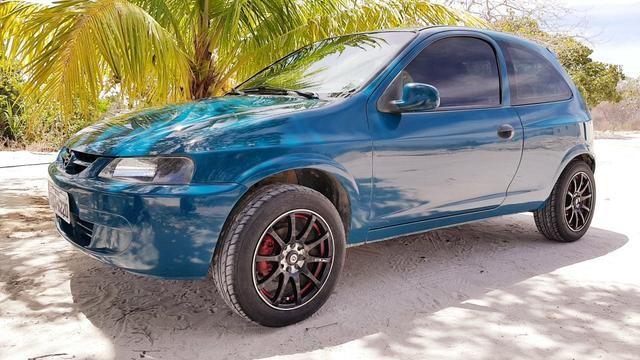 Celta 2001 Esport com Rodas GTR aro 15 ultraleves Restauração Completa