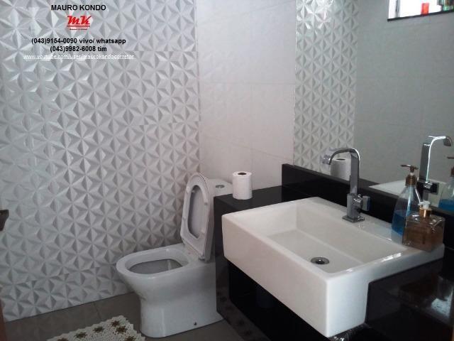 Excelente casa de alto padrão no Condomínio Moradas do Arvoredo em Ibiporã - Foto 14