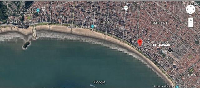 Apartamento para alugar com 2 dormitórios em Boqueirão, Santos cod:AP00706 - Foto 3