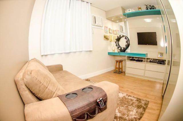 Incrível apartamento 3 quartos com suíte no condomínio Reserva Verde na Serra - Foto 9