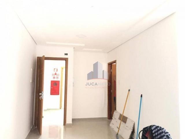 Apartamento com 2 dormitórios para alugar, 68 m² por r$ 1.125/mês - parque são vicente - m - Foto 4