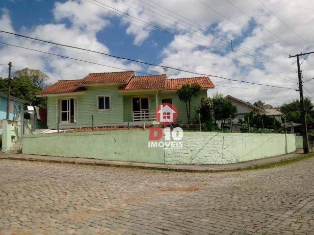 Casa com 3 dormitórios à venda, 132 m² por r$ 530.000,00 - santo antão - bento gonçalves/r