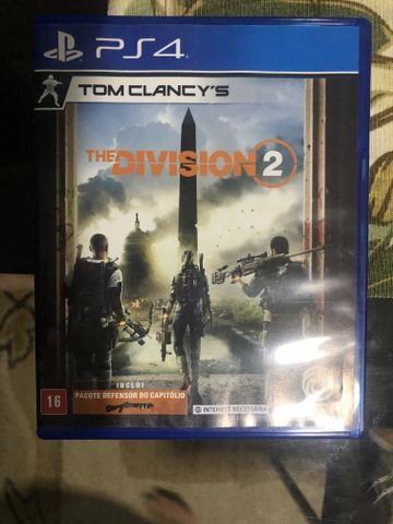 The division 2 jogo de Ps4