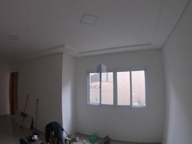Apartamento com 2 dormitórios para alugar, 68 m² por r$ 1.125/mês - parque são vicente - m - Foto 6