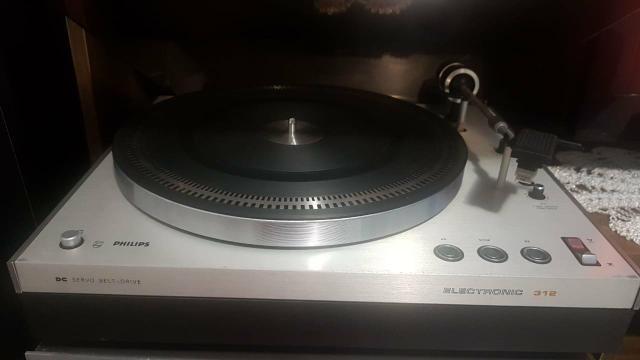 Toca discos philips 312 - Foto 6