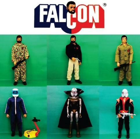 Falcon Estrela Anos 70 e 80. Coleção. Lote Coleção Falcon