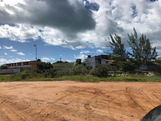 Terreno com duas frentes, de esquina, na praia de Baia Formosa/RN - Foto 2