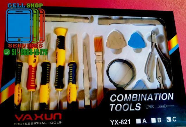 Kit De Chaves Celular Yaxun Yx-821 C - 15 Itens