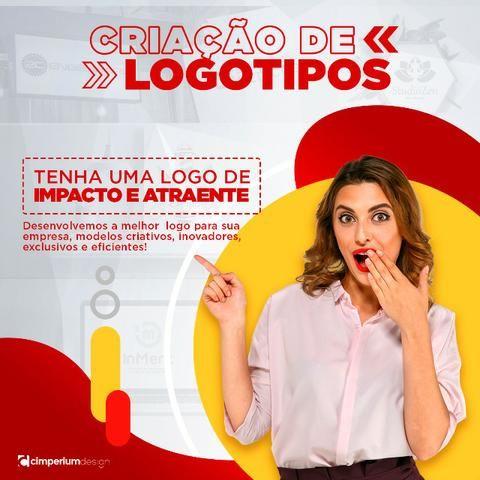 Crie sua logo, artes gráficas e visuais, web site, vídeo, locução