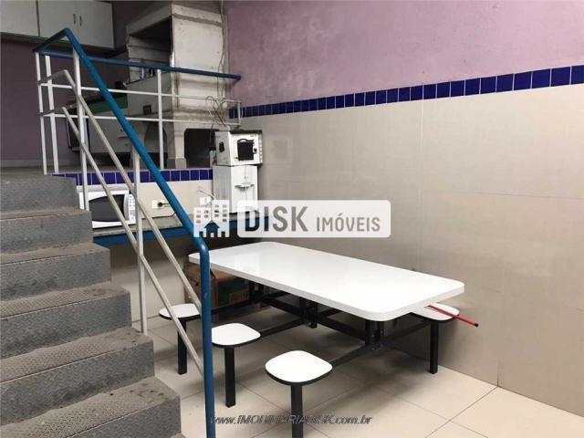 Galpão/depósito/armazém para alugar em Piraporinha, Diadema cod:21712 - Foto 10