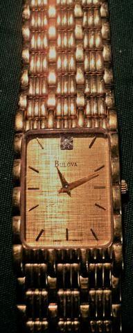 Relógio Bulova; Banhado A Ouro 14k Feminino T5 - Foto 6