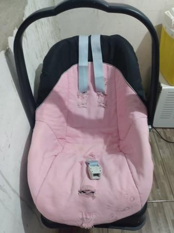 Bebê conforto com base + Berço Burigotto - Foto 4