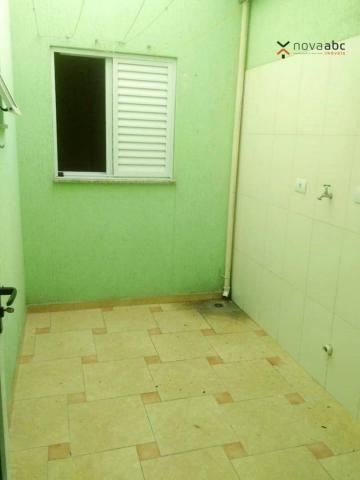 Apartamento com 2 dormitórios para alugar, 56 m² por R$ 1.100,00/mês - Parque Oratório - S - Foto 9