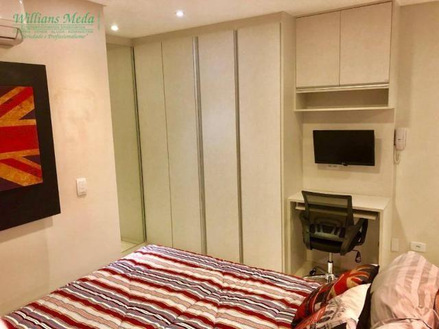 Studio com 1 dormitório para alugar, 36 m² por r$ 1.950/mês - vila augusta - guarulhos/sp - Foto 9