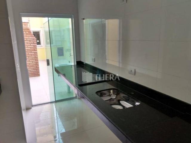 Apartamento com 3 dormitórios à venda, 96 m² por r$ 460.000,00 - campestre - santo andré/s - Foto 13
