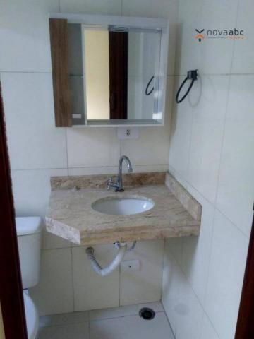 Apartamento com 2 dormitórios para alugar, 56 m² por R$ 1.100,00/mês - Parque Oratório - S - Foto 19