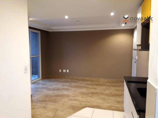 Apartamento com 2 dormitórios para alugar, 46 m² por R$ 900/mês - Vila João Ramalho - Sant - Foto 11