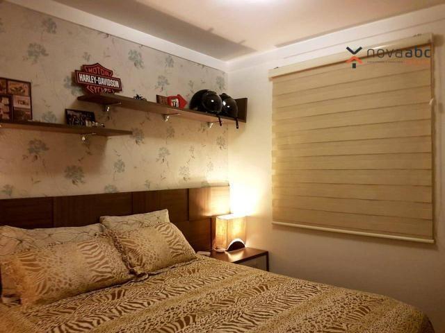 Apartamento com 2 dormitórios para alugar, 50 m² por R$ 1.350/mês - Parque Erasmo Assunção - Foto 15
