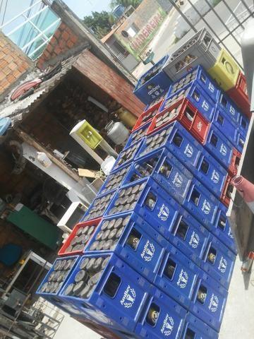 Vendo essas grades cervejao12,00reais de 600ml por22,00
