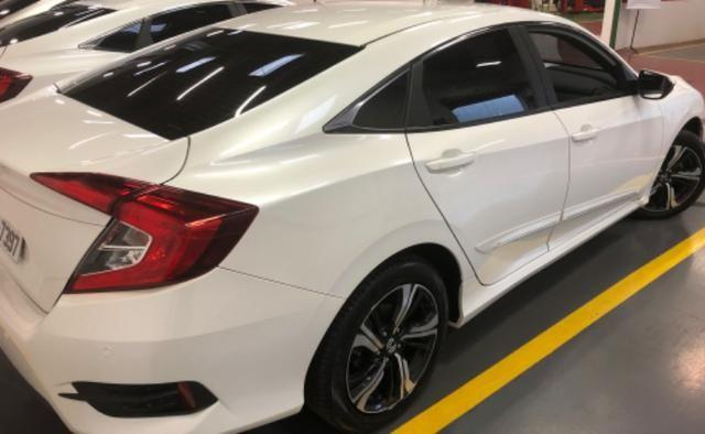 Honda civic EXL mpecável branco estelar - Foto 4
