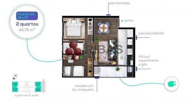 Apartamento à venda com 2 dormitórios em Capão raso, Curitiba cod:15426 - Foto 18