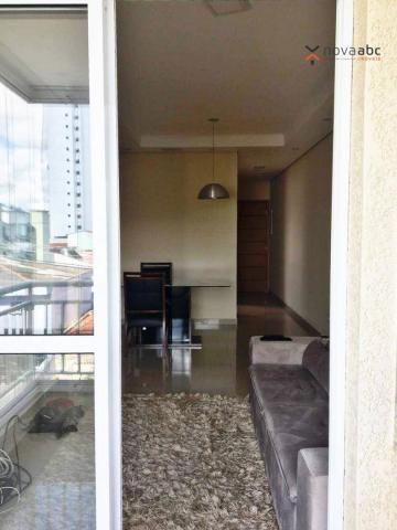 Apartamento com 2 dormitórios para alugar, 63 m² por R$ 2.100/mês - Campestre - Santo Andr - Foto 5