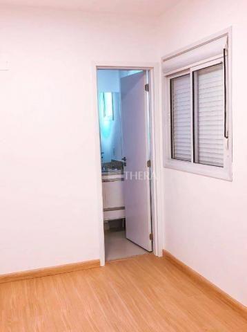 Apartamento com 2 dormitórios para alugar, 71 m² por r$ 2.200/mês - vila assunção - santo  - Foto 12