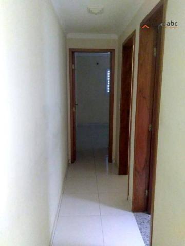 Apartamento com 2 dormitórios para alugar, 56 m² por R$ 1.100,00/mês - Parque Oratório - S - Foto 14