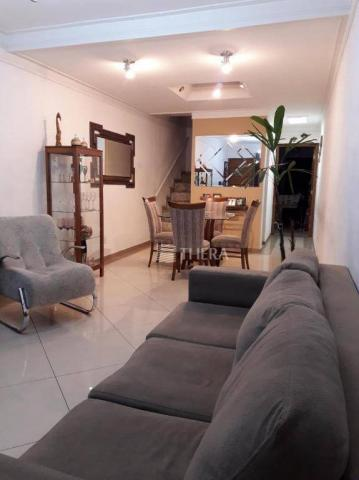 Sobrado com 3 dormitórios à venda, 137 m² por r$ 649.000,00 - vila helena - santo andré/sp