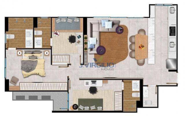 Apartamento com 2 quartos à venda, 86 m² por r$ - setor bueno - goiânia/go - Foto 20