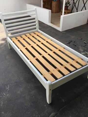 Cama de madeira solteirão - Foto 3