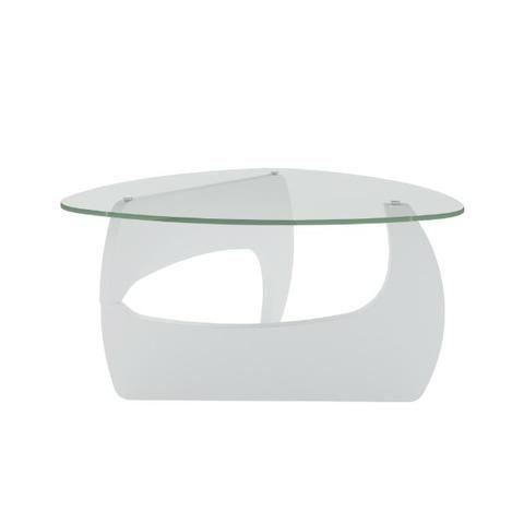 Mesa de centro com tampo em vidro 5mm Branco - Foto 3