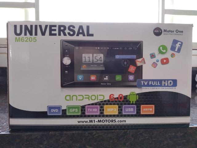 Central Multimidia M1 M-6205 (motor one) 2din, gps,tv Full Hd,android 6.0 - Foto 2