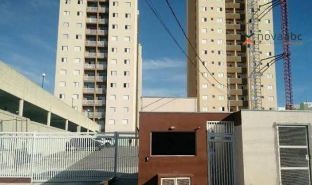 Apartamento com 2 dormitórios para alugar, 46 m² por R$ 900/mês - Vila João Ramalho - Sant - Foto 2