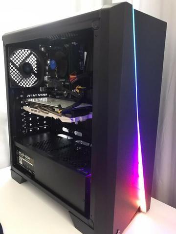 Computador para jogos Full-HD 60FPS e edição pesada