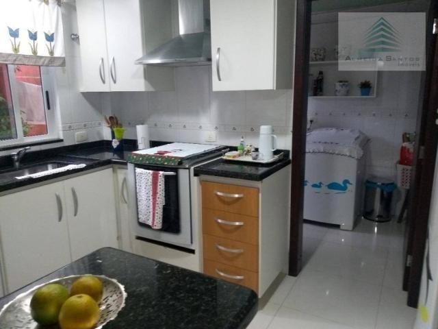 Sobrado com 3 dormitórios à venda, 160 m² por r$ 775.000,00 - são francisco - curitiba/pr - Foto 7